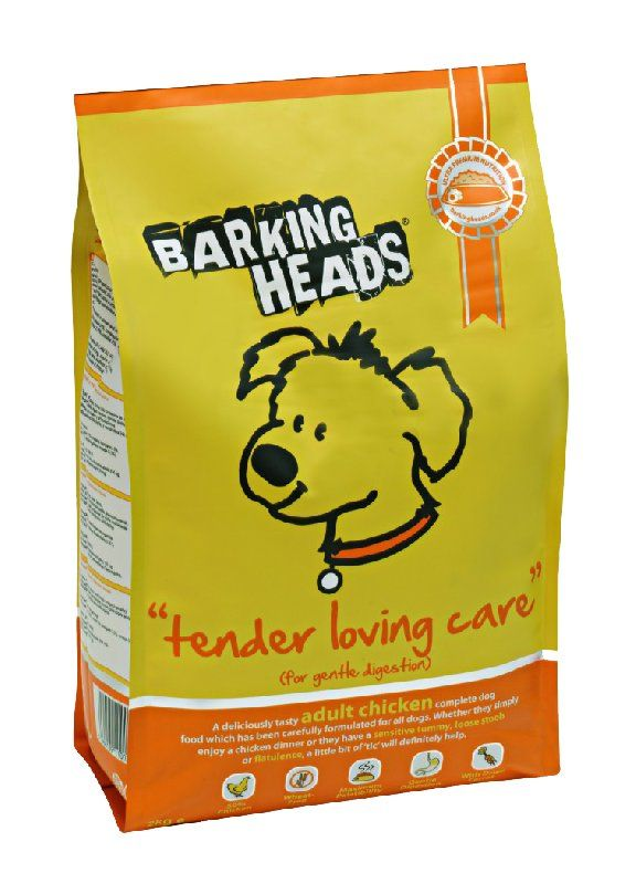 Сухой корм для собак Barking Heads Tender Loving Care Chicken